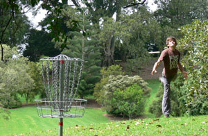 Disc Golf in Auckland